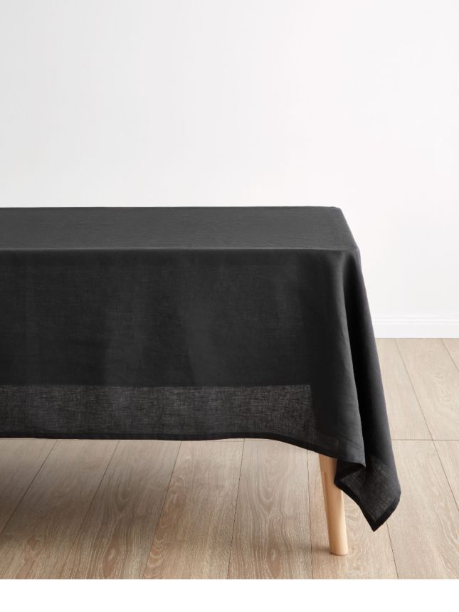 Earthy Natural Linen Autumnal Fall Embroidered  Coloured Boxy Over Sized Loose Fitting Top Recycled Tablecloth