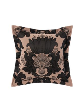 Dionisia Black European Pillowcase