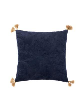 Verity Navy Cushion 48x48cm