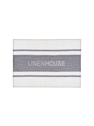 Linen House Ash Tea Towel