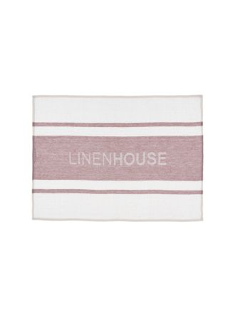 Linen House Dusk Tea Towel