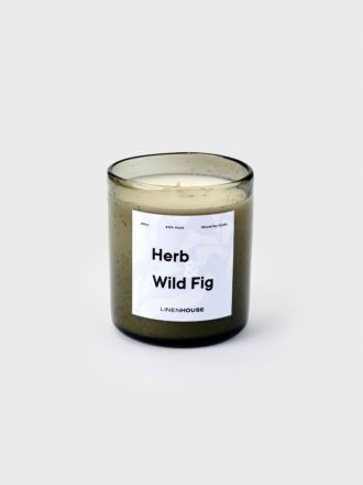 Fig and Wild Herb Soy Candle 390ml
