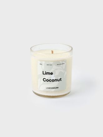 Lime and Coconut Soy Candle 390ml