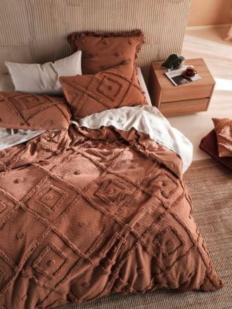 Adalyn Pecan Quilt Cover Set