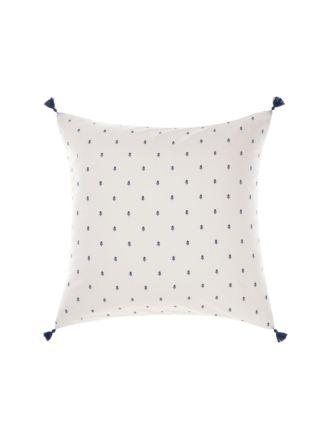 Anika Blue European Pillowcase