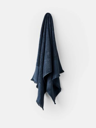 Aria Cotton/Bamboo Slate Towel Collection