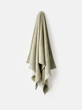 Aria Cotton/Bamboo Wasabi Towel Collection