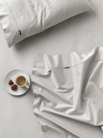 500TC Grey Cotton Sateen Sheet Set