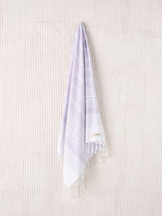 Burleigh Lilac Hammam Towel