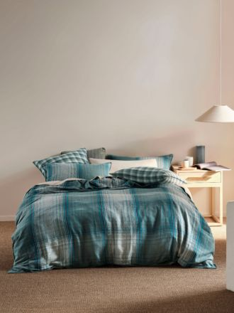 Carricklea Blue Quilt Cover Set