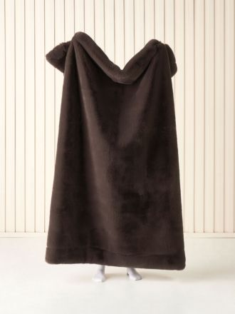 Donna Mocha Throw