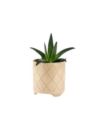 Estrada Caramel Planter Pot 16cm