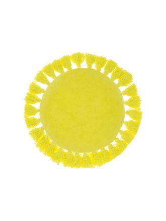 Florida Lemon Cushion 45cm Round