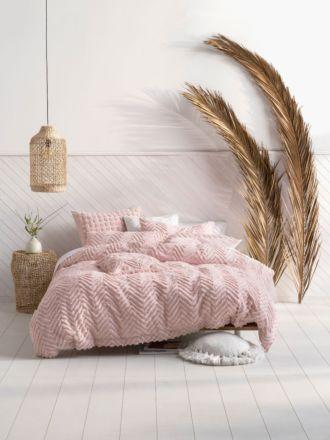 Fog Pink Quilt Cover Set