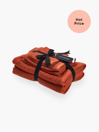 Gelati Rust 6-Piece Bath Towel Set