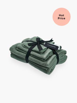 Gelati Teal 6-Piece Bath Towel Set