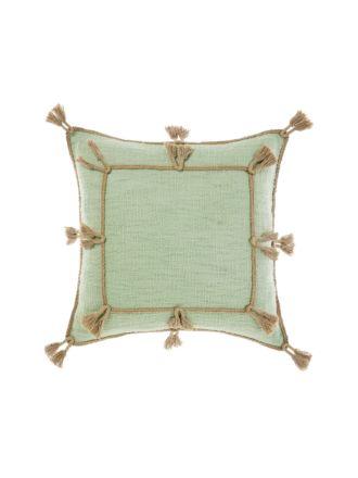 Hannah Mint Cushion 45x45cm