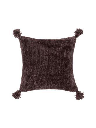 Hara Espresso Cushion 45x45cm