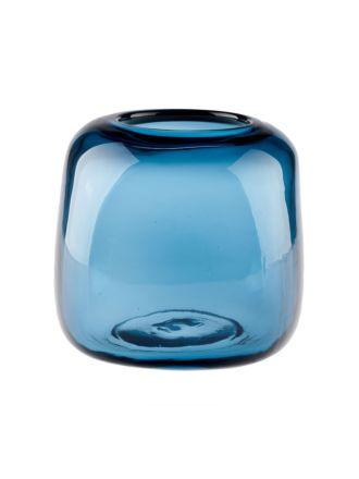 Indiana Blue Vase 15cm