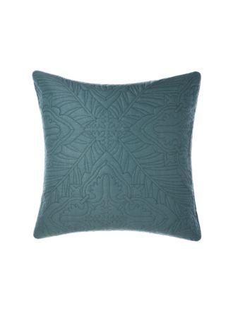 Isadora Petrol European Pillowcase
