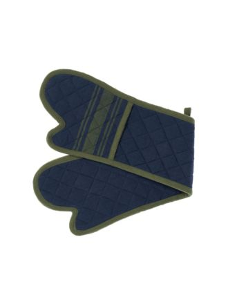 Karis Navy Double Oven Glove