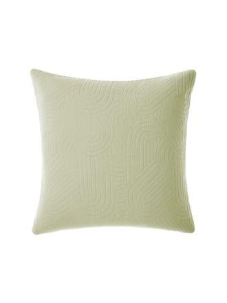 Lila Wasabi European Pillowcase