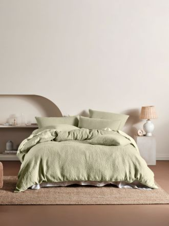 Lila Wasabi Quilt Cover Set