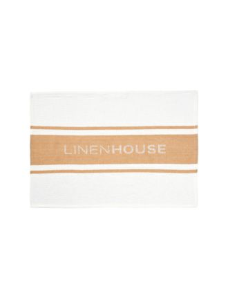 Linen House Biscotti Tea Towel
