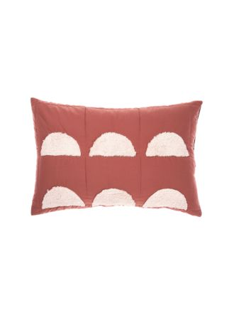 Moonrise Paprika Pillow Sham Set