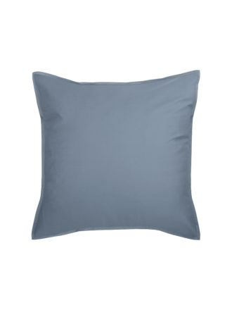 Nara Bamboo Cotton Bluestone European Pillowcase