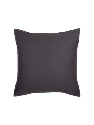 Nara Charcoal European Pillowcase