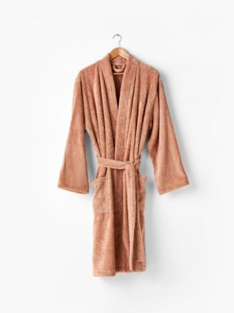 Nara Cotton/Bamboo Clay Bath Robe