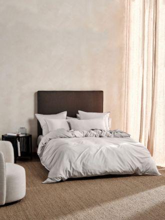 Nara Bamboo Cotton Silver Quilt Cover Set