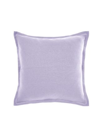 Nimes Lilac Linen Tailored Cushion 48x48cm