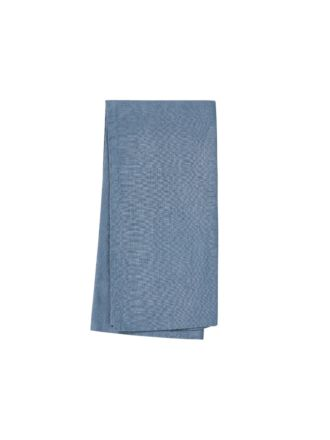 Nimes Nightfall Blue Linen Tea Towel