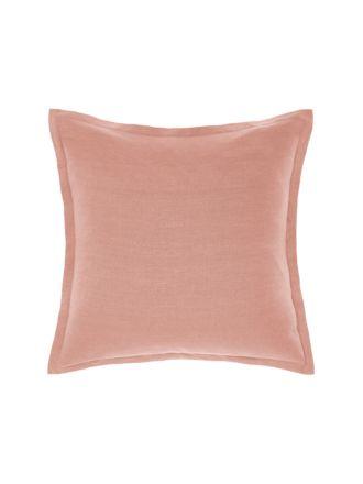 Nimes Rosette Linen Tailored Cushion 48x48cm