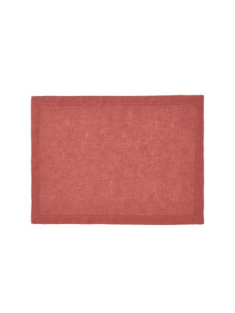 Nimes Sangria Linen Placemat
