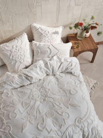 Rapallo White Quilt Cover Set