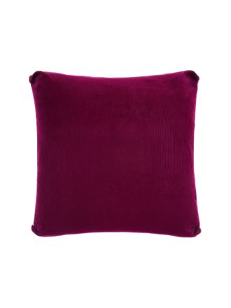 Reagan Boysenberry Cushion 55x55cm