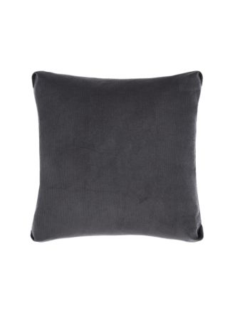 Reagan Charcoal Cushion 55x55cm