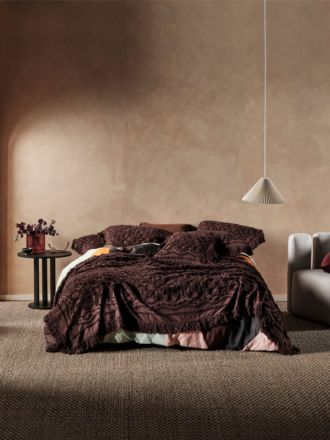 Somers Espresso Bed Cover