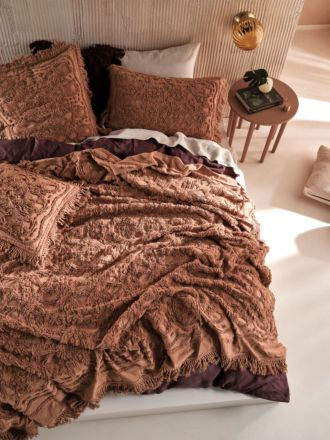 Somers Pecan Bed Cover