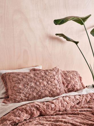 Somers Rosette Pillow Sham Set