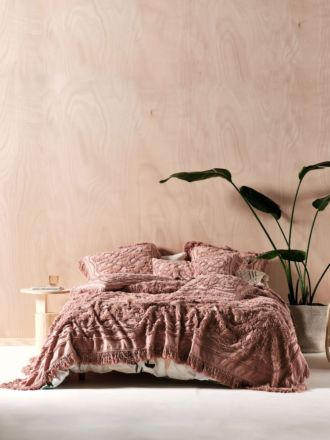 Somers Rosette Bed Cover