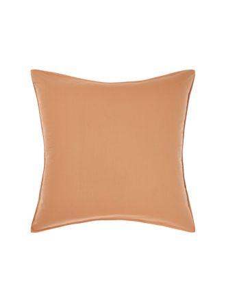 Terra Organic Cotton Caramel European Pillowcase