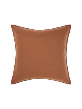 Terra Organic Cotton Pecan European Pillowcase