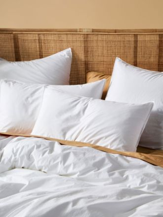 Terra Organic Cotton White Standard Pillowcase Pair