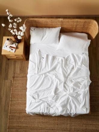 Terra Organic Cotton White Sheet Set