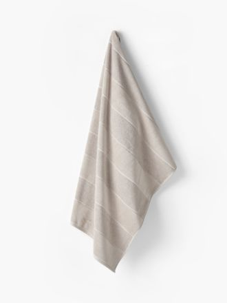 Velour Stripe Linen Towel Collection