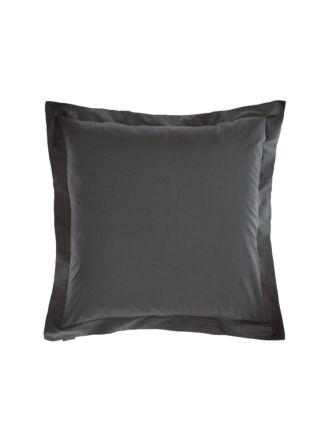Vienna Charcoal European Pillowcase